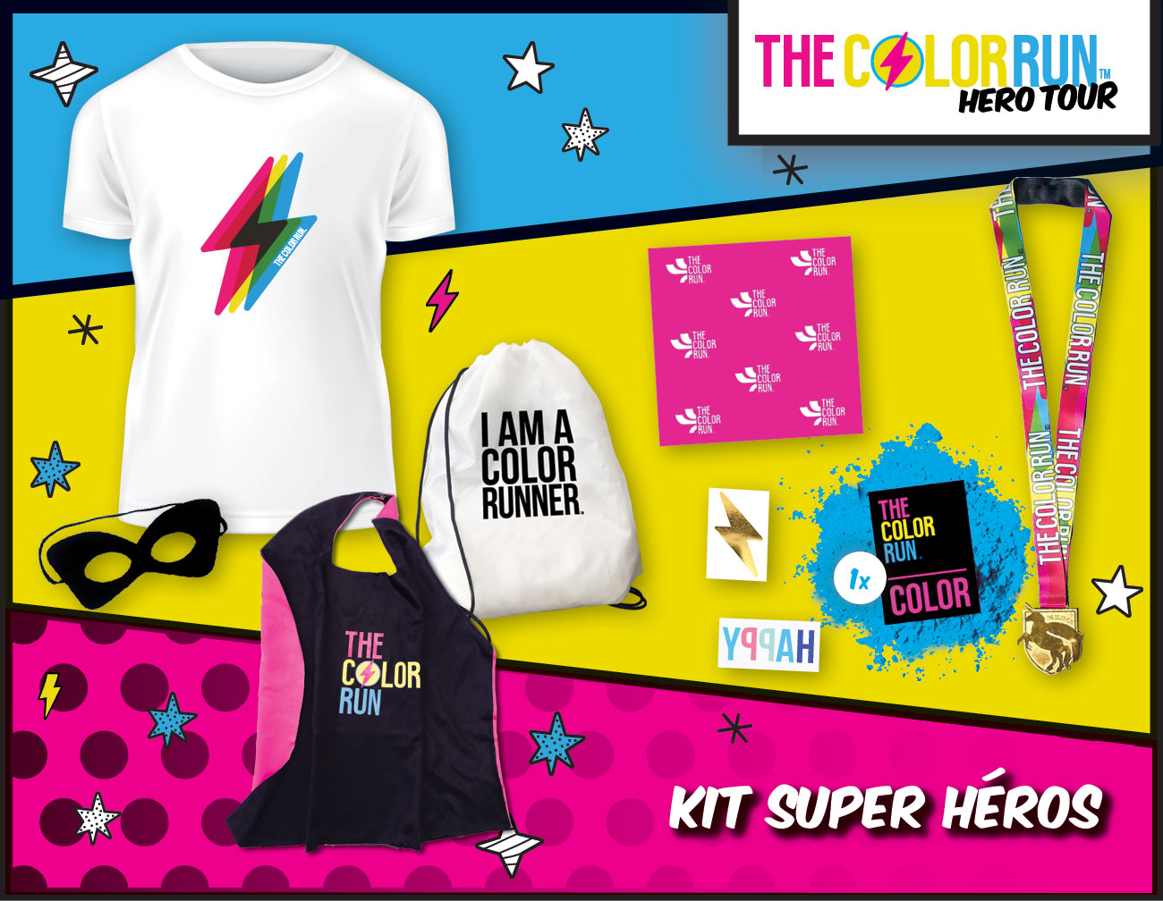 super héros Participant Kit