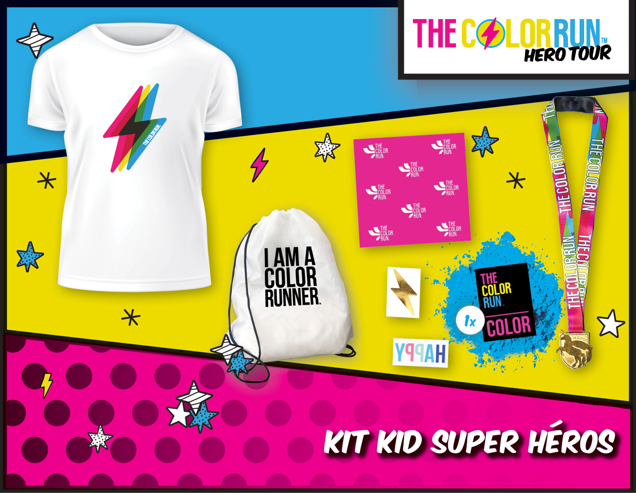 kid Super héros Participant Kit