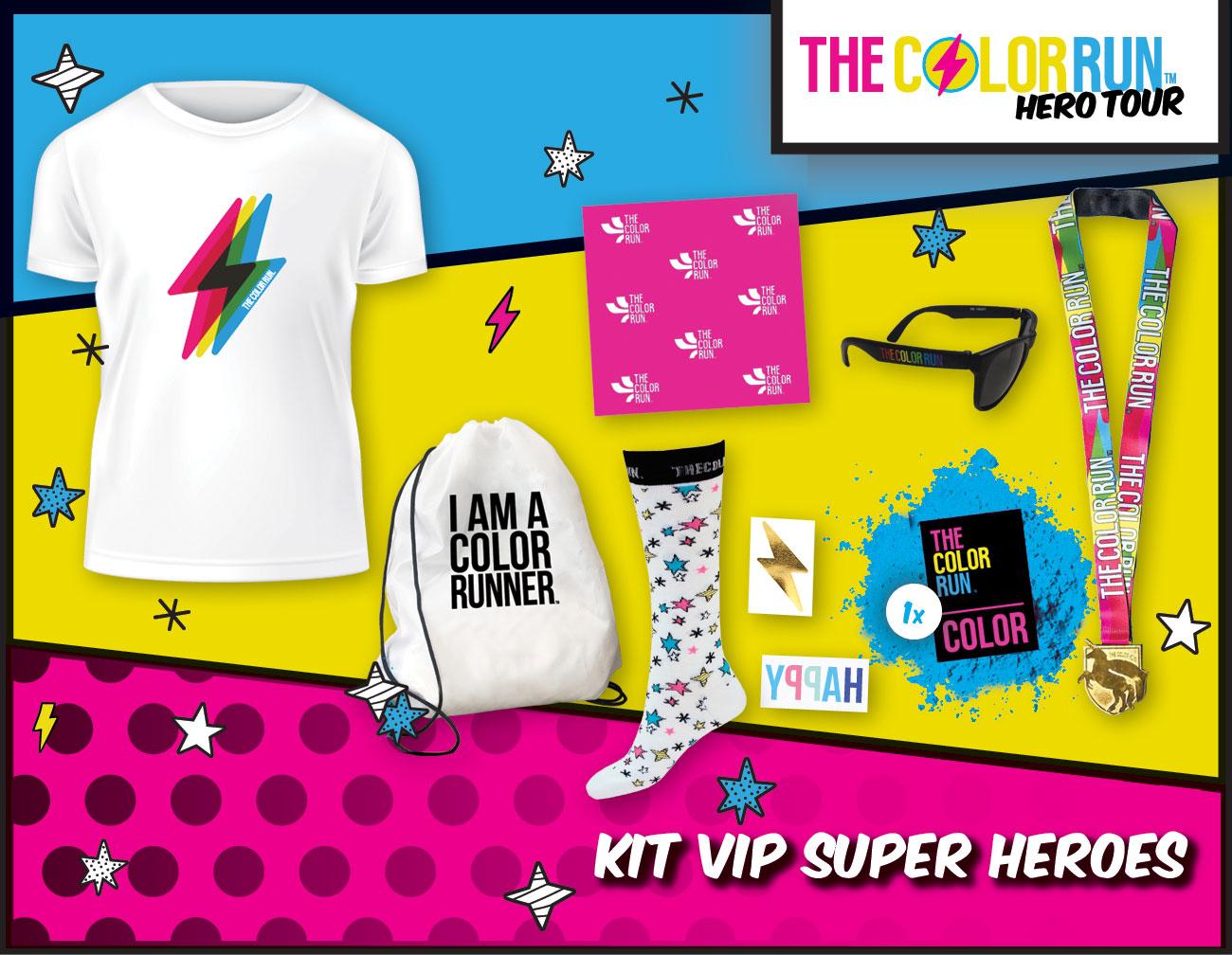 Vip Super Heroes Participant Kit